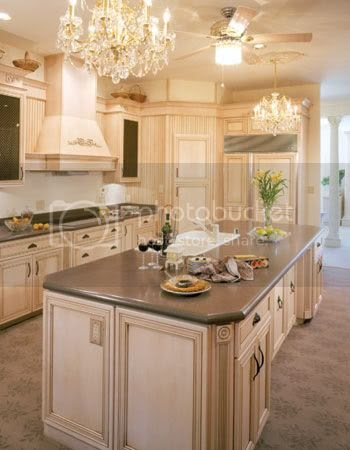 cream kitchen cabinets with blue walls the blushing chic faux finishing kitchen cabinets 14221