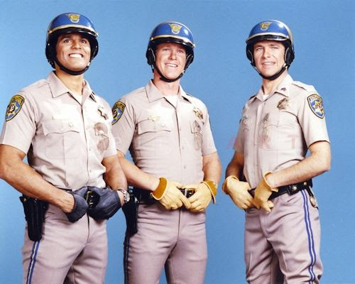 CHiPs - Erik Estrada, Larry Wilcox and Robert Pine