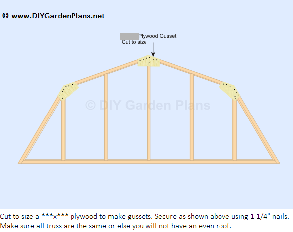 Mustajab diy 8x8 shed plans 24x24 for Shed roof pole barn plans