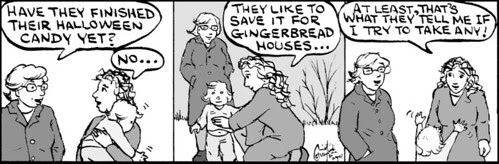 Home Spun comic strip #548