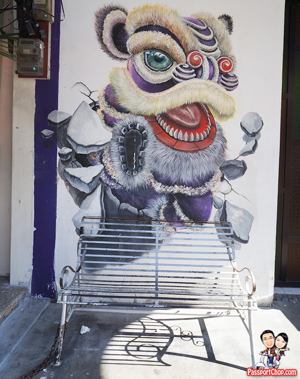 Penang Street Art Painting Step By Step Walking Guide What To See