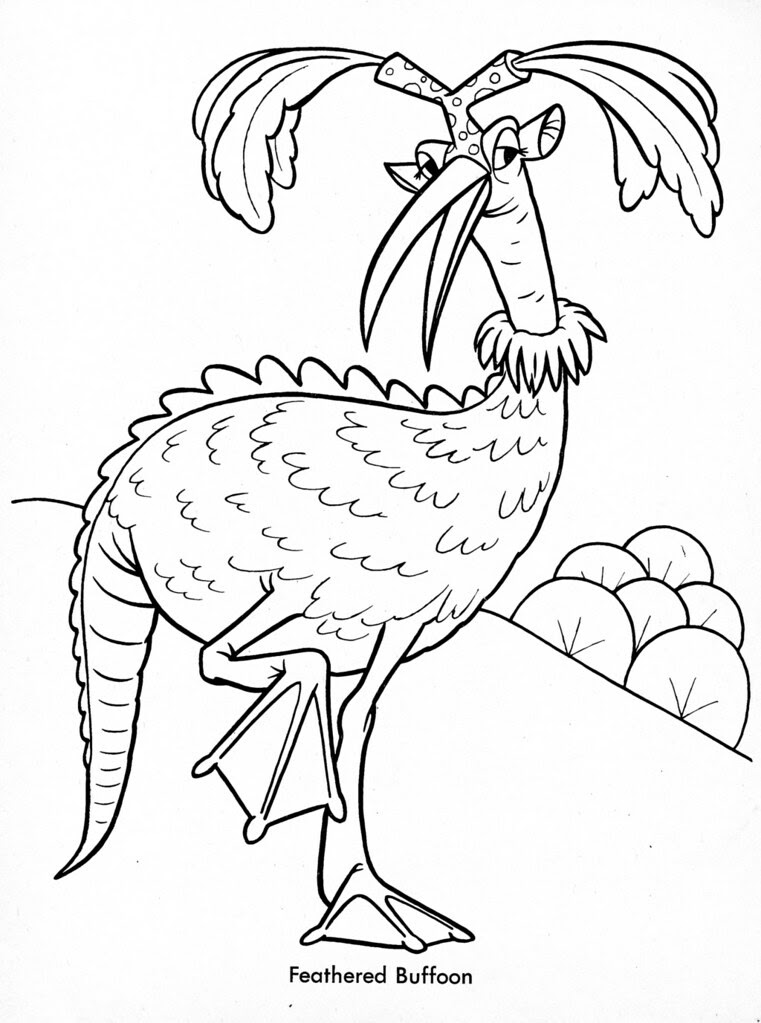 Funny Monsters Coloring Book (Treasure Books, 1965) 27