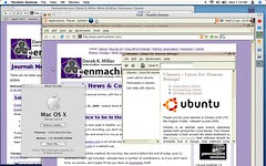 Safari Mac OS X vs. Firefox Ubuntu Linux