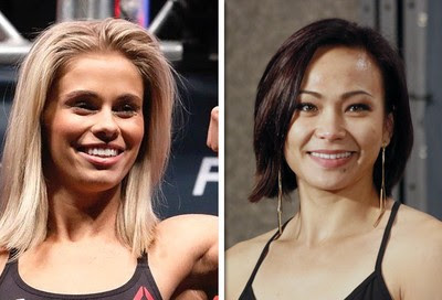 Paige VanZant x Michelle Waterson (Foto: Getty )