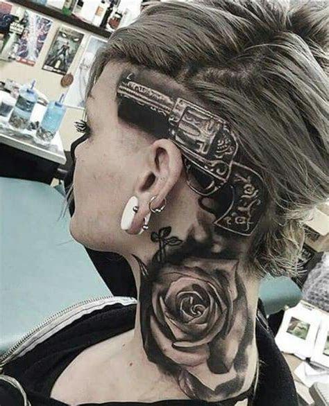 pin jarrod scott tattoo girl tattoos head tattoos