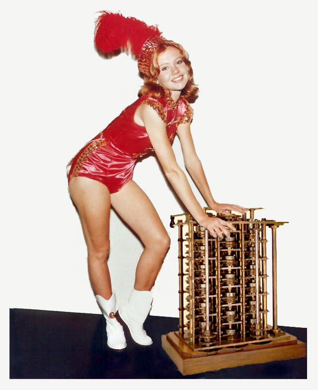 Hayley Mills in The Trouble with Difference Engines