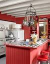 Red Country Kitchen Ideas - d'