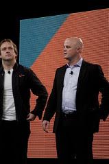 "Jason Gartner and Mark Little, JavaOne 2011 San Francisco ""Java Strategey Keynote"""