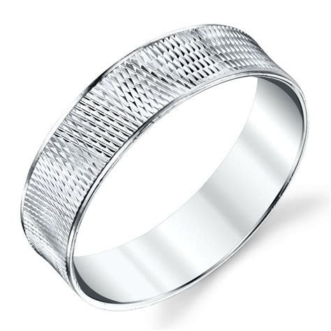 925 Sterling Silver Mens Wedding Bands Rings size 8, 9, 10