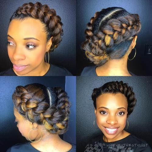Popular Inspiration 32+ Easy Bun Hairstyles African American