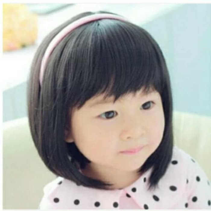Model Rambut Bob Pendek Anak Perempuan Gaya Ootd