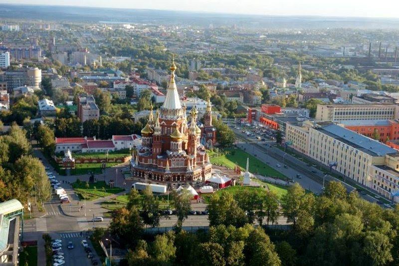 Ижевск города, история, название, происхождение, россия