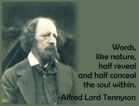 Alfred Tennyson Quotes Goodreads