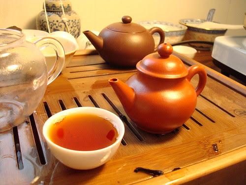 Zhuni and Tea