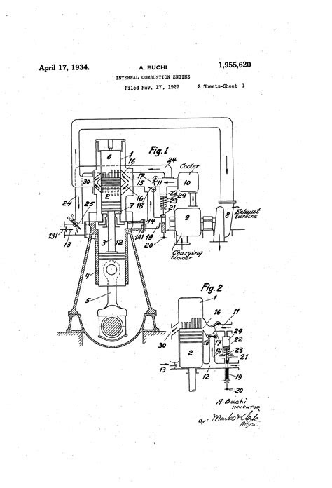 Patent US1955620 - Internal combustion engine - Google Patents