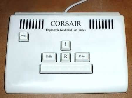Pirate Keyboard - just has 'R'