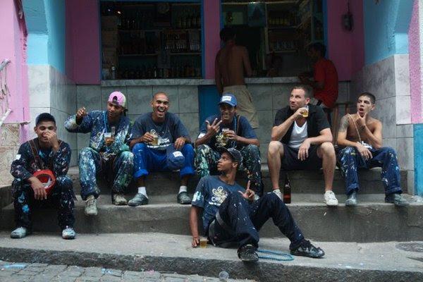 Favela v novih barvah