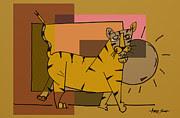 Artist  Singh - Tiger 7 By Artist Singh