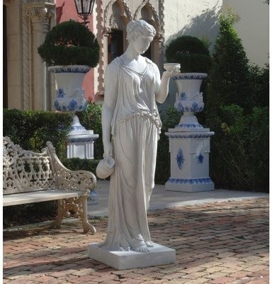 Design Toscano Hebe the Goddess of Youth Statue - Large - modern ...