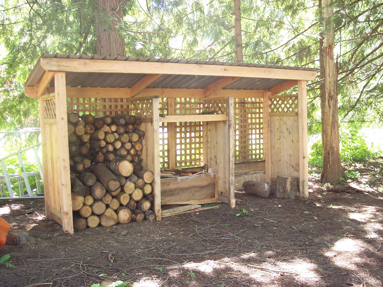 Wood Shed How To Build Newshed Plans