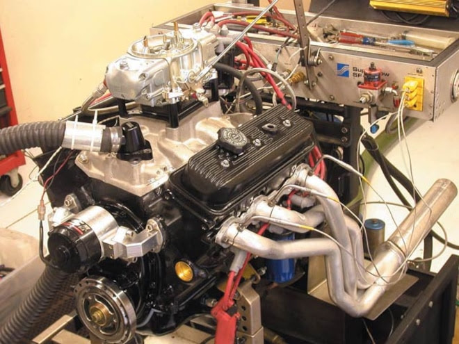 Chevy 4 3l 262ci V 6 Engine Build