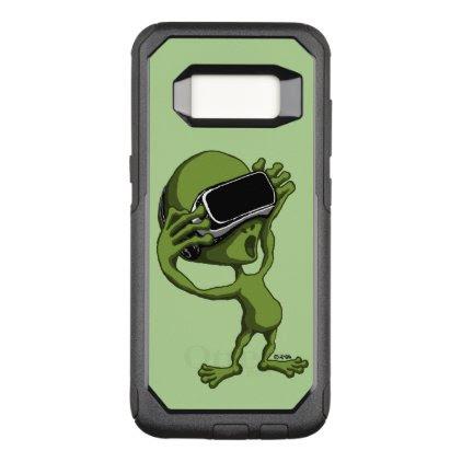 VR Alien OtterBox Commuter Samsung Galaxy S8 Case