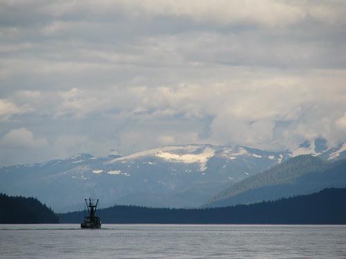 Alaska fish boat