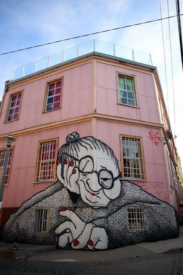Amazing Huge Street Art on Building Walls (40)