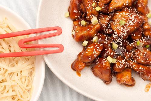 Sesame honey chicken / Meekana
