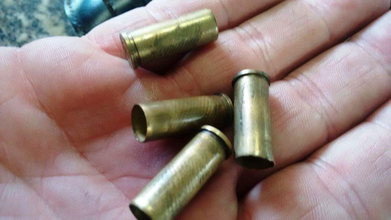 munições deflagradas