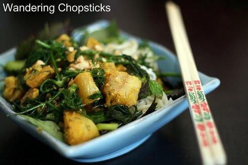Cha Ca Thang Long (Vietnamese Hanoi-style Turmeric Fish with Dill) 1