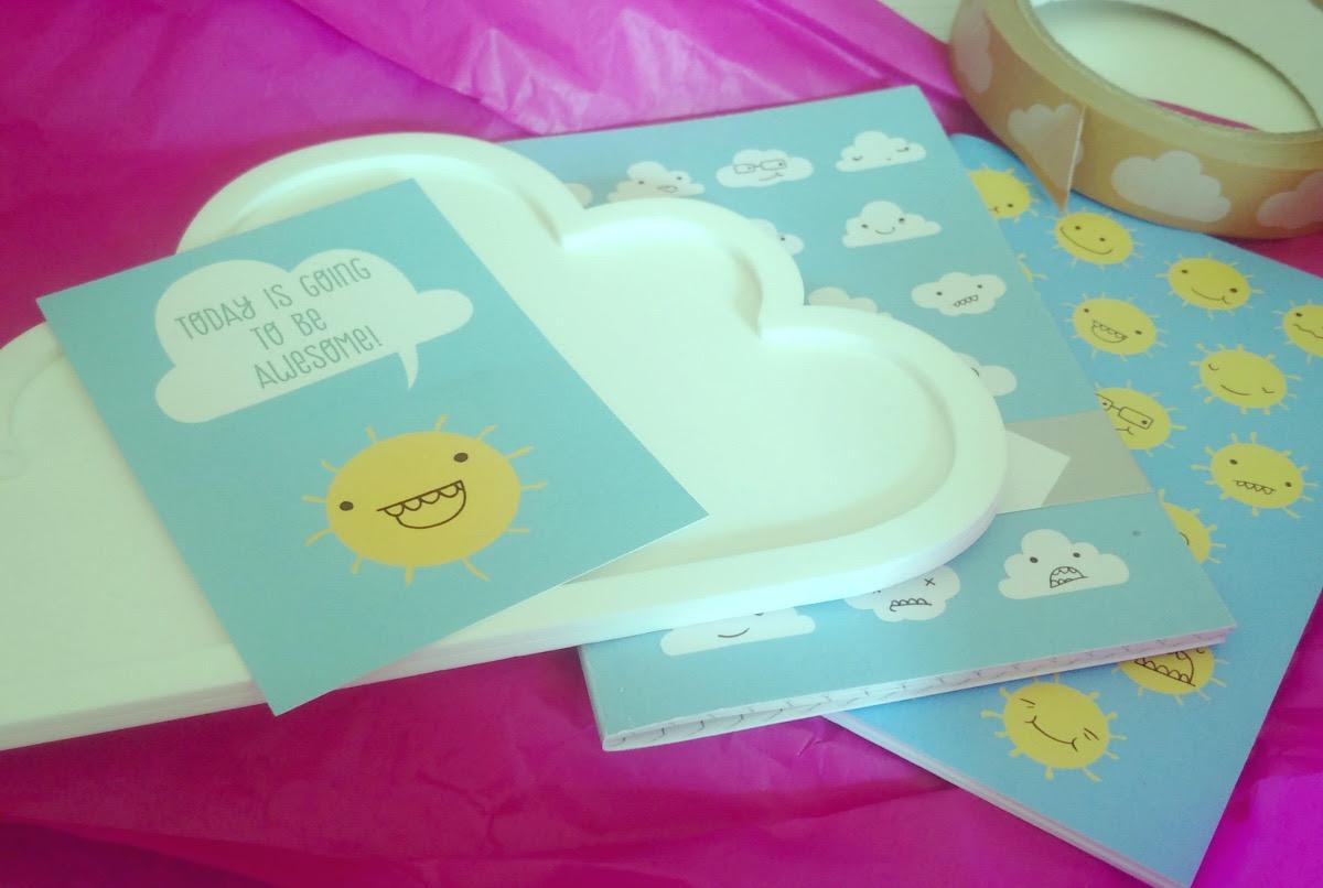Pygmy Cloud Stationery
