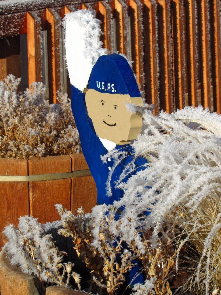 Frosty the PostMan