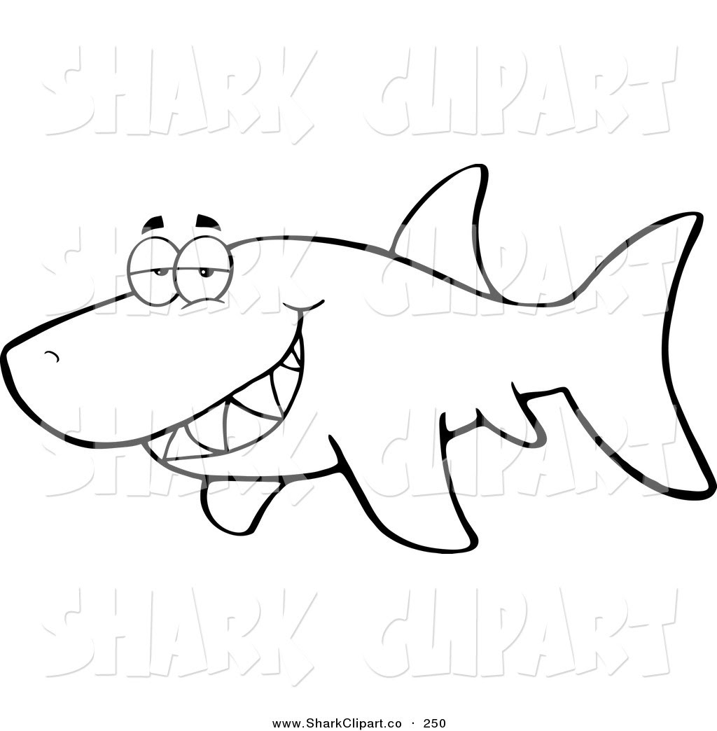 Megalodon Shark Drawing at GetDrawings   Free download