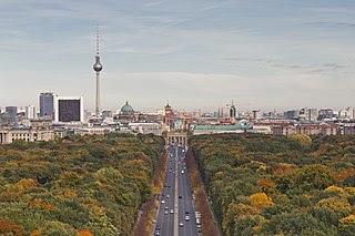 Skyline von Berlin Mitte