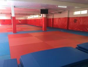 Sala de judô do Flamengo vai ficar à disposição do Comitê Olímpico dos Estados Unidos - Gávea (Foto: Tiago Leme)