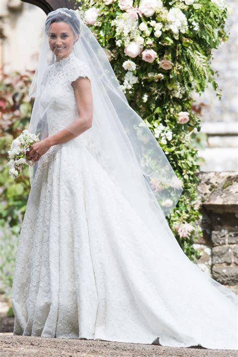 8 Amazing Celebrity Wedding Dresses from 2017   weddingsonline