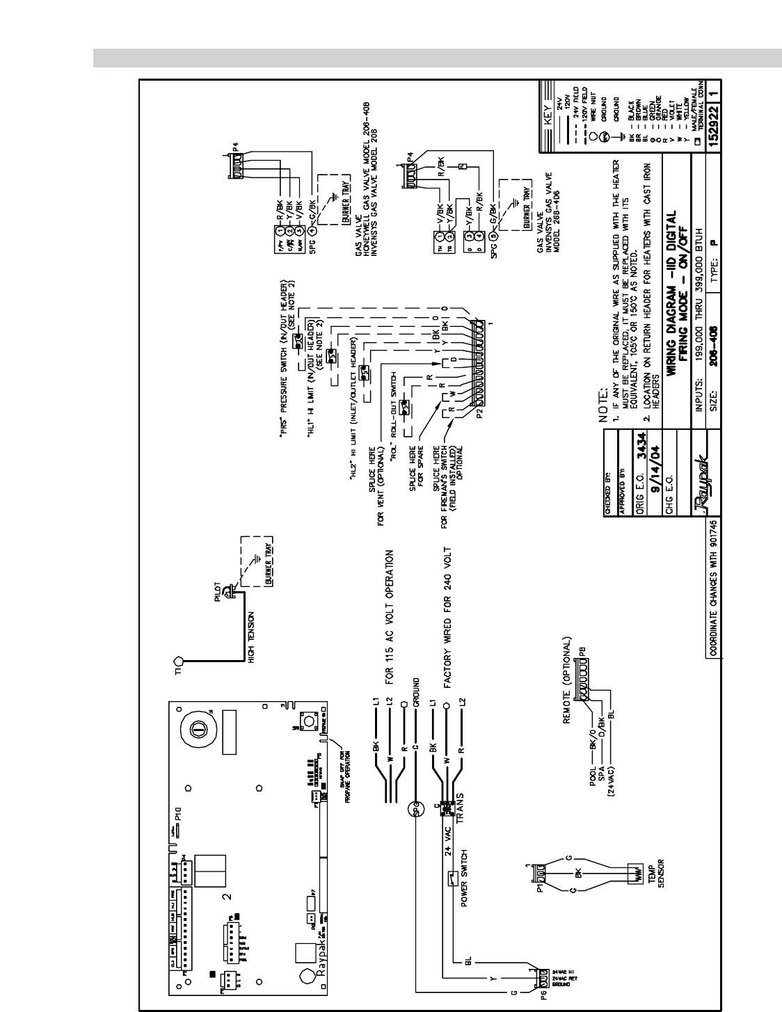Pool Heater Wiring Diagram