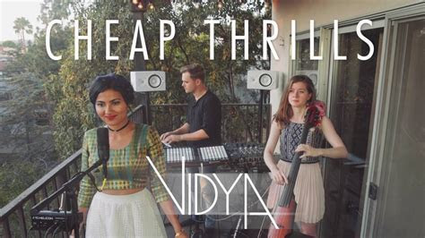 Sia Cheap Thrills Mp3 song free download   Vidya Vox Cover