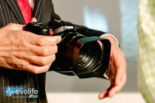 canon 4k fixed lens video camera
