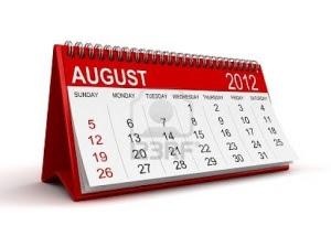 Agustus 2012 bulan dengan kejutan bertubi-tubi