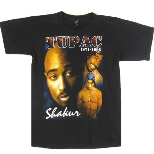 Vintage Tupac Shakur 2pac Tommy Hilfiger T Shirt 1996 Rap Hip Hop