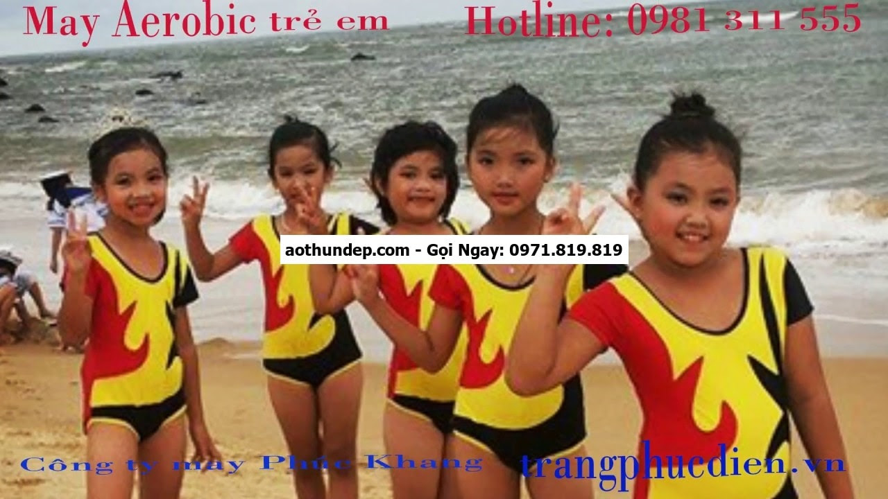 đồ aerobic trẻ em