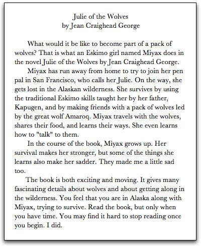 good books to write essays on