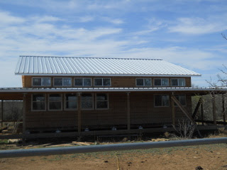 Another View of the Completed Siding of Upper North Side