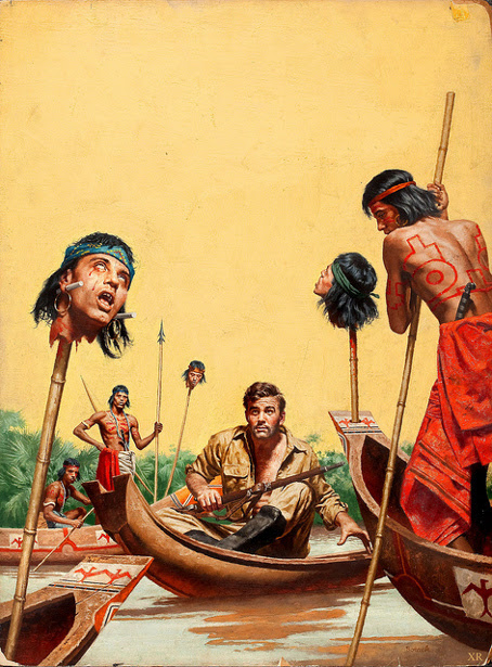 I Escaped From The Head-Hungry Jivaros - I Hunted Heads