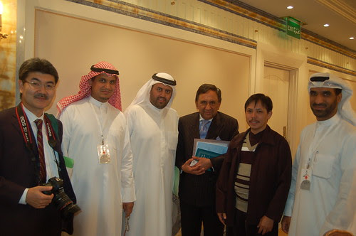 With Lord Sheik, in Kuwait