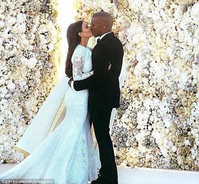 núpcias Sonho: casamento branco: Kim e Kanye casar no Forte di Belvedere em Florença, Itália, maio 2014