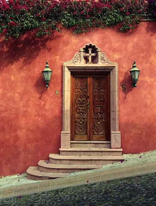 Wooden Door, San Miguel de Allende, Mexico