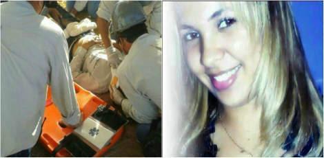 Gleiciane foi levada ao Memorial de Goiana e depois transferida para o Hospital da Restauração no Recife / Fotos: Cedidas pela família à TV Jornal